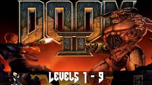 1 Doom 2 Hell On Earth Levels 1 9 No Commentary Youtube