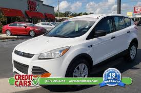 credit cars 1 here pay here used car orlando fl easy yes with bad credit 2016 ford escape