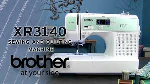 Brother XR3140R Sewing & Quilting Machine Overview - YouTube &  Adamdwight.com