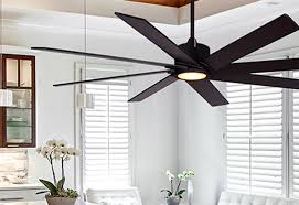 oil rubbed bronze ceiling fan with led light
