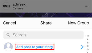 Instagram: Here's How to Share Someone's Post to Your Story – Adweek