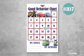 How To Make A Sticker Chart For Good Behavior Cars Movie Good Behavior Sticker Chart Incentive Chart Managing Behavior Cars Movie Lightning Mcqueen Sally Filmore Tow Mater