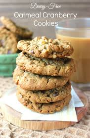 Add walnuts, pecans, or even raisins if you want extra heft. Dairy Free Oatmeal Cranberry Cookies Recipe Vegan In The Freezer