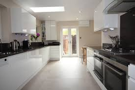 Kitchens With Granite Worktops Contemporary Kitchen With Grey Granite Worktops Redditch Diamond