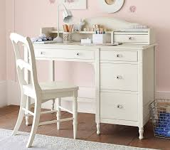 juliette storage desk hutch pottery barn kids elegant white desk with drawers and hutch