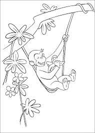 Disegni Da Colorare Curioso Come George 34 Disegni Lenzuola Rosa