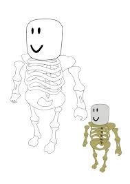 Coloring is a fun activity for children. Roblox Skeleton Coloring Pages 2 Free Coloring Sheets 2021