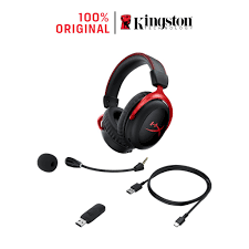 Tai nghe Kingston HyperX Cloud 2 Wireless 7.1 chuyên game Màng loa 53mm Mic  khử ồn giảm tiếp 3,990,000đ