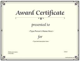 Download Award Certificate Templates Award Certificate Template Selfshoppy Me