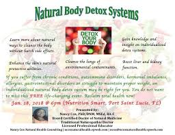 natural body detox systems at nutrition smart 464 sw port st lucie blvd 107 port st lucie fl 34953