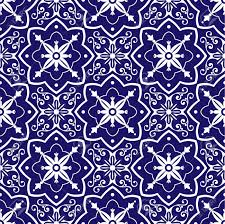 Pattern In Spanish Extraordinary Diagonal Tiles Pattern Vector With Blue White Floral Ornaments