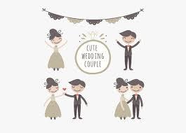 Cute Couple Png Wedding Couple Marriage Drawing Bridegroom Cute Wedding