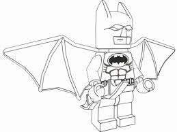 Small Picture Coloring Pages Lego Two Face Coloring Page Free Printable