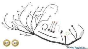 wiring specialties pro engine tranny harness for s14 sr20 sr20det image is loading wiring specialties pro engine tranny harness for s14