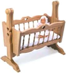 woodworking baby doll cradle patterns free wooden