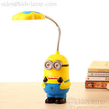 cute flexible minions led cordless desk lamps kids lampcom