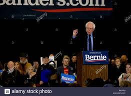Concord, New Hampshire, USA. 10th Mar, 2019. BERNIE SANDERS campaigns in  Concord, New Hampshire. Credit: Preston Ehrler/ZUMA Wire/Alamy Live News  Stock Photo - Alamy