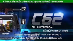 Camera Hành Trình Ô tô VIETMAP C62s Ghi Hình Trước Sau + thẻ nhớ 16GB + ...    Science and technology, Ban.do, 16gb
