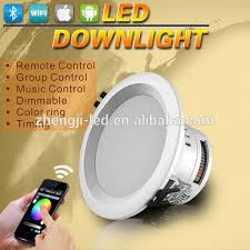 wireless led lighting control system rgbw wifi downlight recessed bulb light led bulb lights multicolor recessed driveway lights retrofit dimmable led