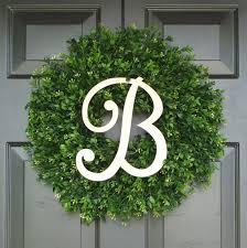 initial wreaths for front doorSUMMER Wreaths  Elegant Wreath