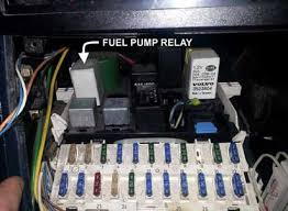 volvo relays if you need to see the full relay diagram this image came from it s here davebarton com pdf 700 900relaylocations pdf jumping a main fuel pump