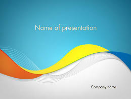 wave powerpoint templates tricolor wave powerpoint template backgrounds 12099