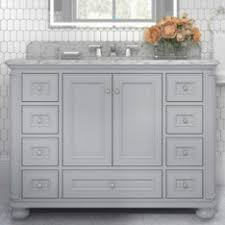 gray bathroom vanity. Furniture-Style Vanities Gray Bathroom Vanity