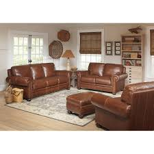 Tan Leather Living Room Set Rawlings
