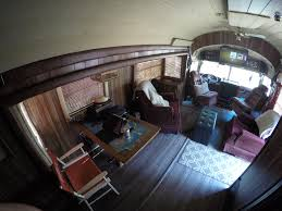 the living e in the converted bus