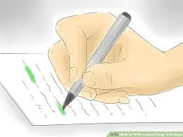 ways to write a good essay in college wikihow image titled do research step 17