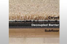 barrier materials for floors control sound transfer from floor to floor