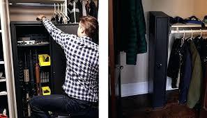 safe organizer ideas closet storage small safes in closets showing man quickly getting closet closet storage