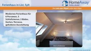 List Modernes Ferienhaus Für 6 Personen 3 Schlafzimmer 2 Bäder Garten Fewo Direktde Video