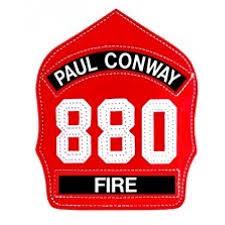 paul conway helmet fronts 6 inch standard