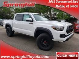 New Toyota Tacoma Trucks for Sale in Spanish Fort, AL 36527 ...