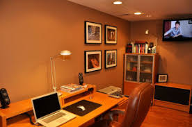 home office in basement. We Apparently Caught The Eye Of Many A Basement-remodeler With Our Before And After: Basement Home Office Featured Workspace\u2014basements Offices From All In C
