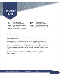 Free Fax Template Cover Sheet Word Adorable Fax Covers Office