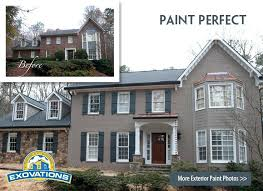 painting the brick on your house house with painted brick before and after pictures painting brick painting the brick on your house