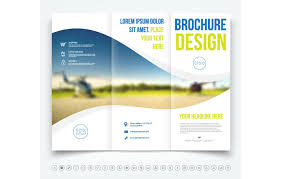 3 column brochure tri fold brochure template 20 free easy to customize designs
