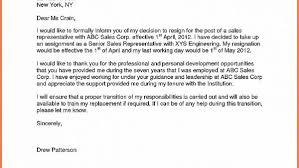 sales rep termination letter bonjourmissmary com resignation letter