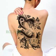 Waterproof Temporary Tattoo Sticker Ancient Egypt Bast Bastet Cat Totem Tatto Stickers Flash Tatoo Fake Tattoos For Men Women