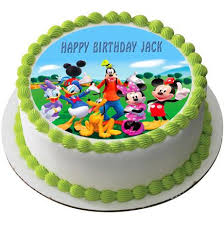 Mickey Mouse Clubhouse 3 Edible Cake Or Cupcake Topper Edible