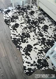 white faux cowhide rug faux cowhide rug for under white and silver faux cowhide rug