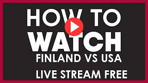 USA vs Finland Live Stream Free on Reddit: Watch IIHF 2021 Online TV  Channel - TechiAzi