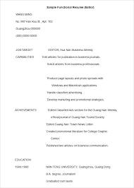 Resume Templates Editor Free