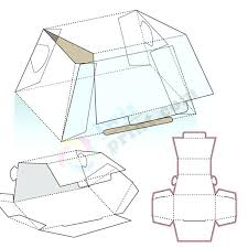 Packaging Box Design Template Arzneipflanze Info