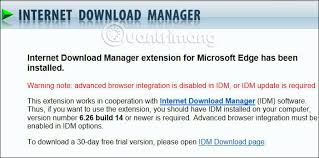 Download internet download manager for windows to download files from the web and organize and manage your downloads. How To Install Internet Download Manager On Microsoft Edge