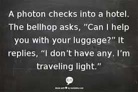 Photon Traveling Light