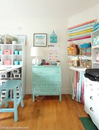 How To Organize A Craft Room Work Space  The Happy HousieOrganize Craft Room