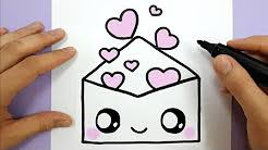 Cute Love Drawings Easy Drawing Tutorials Youtube